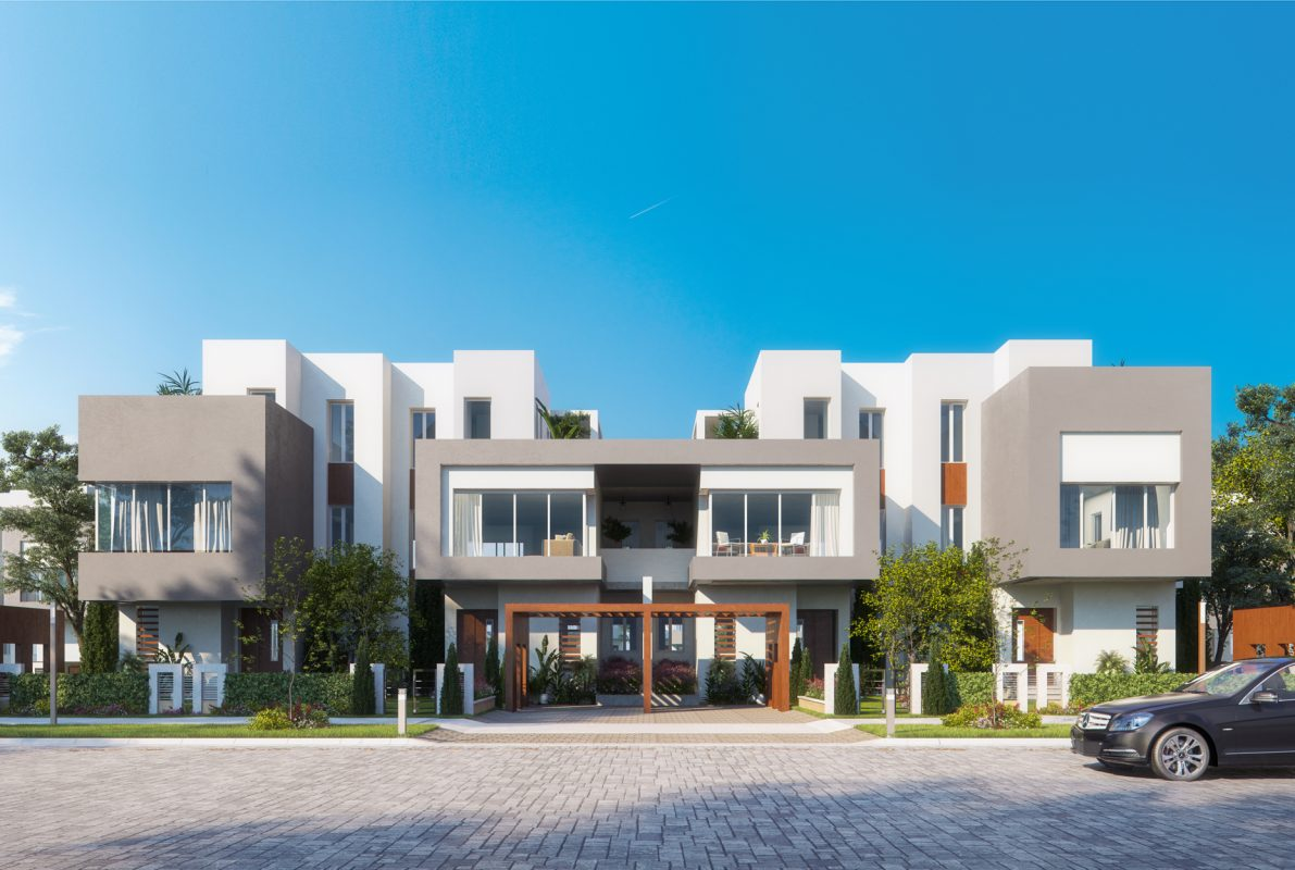 Sheikh zayed Town Houses